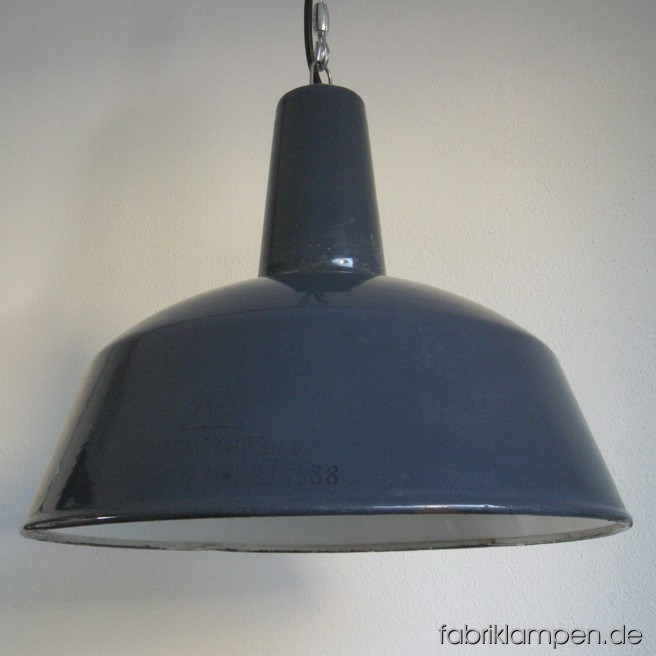 la44 grosse industrielampe grau fabriklampen. Black Bedroom Furniture Sets. Home Design Ideas