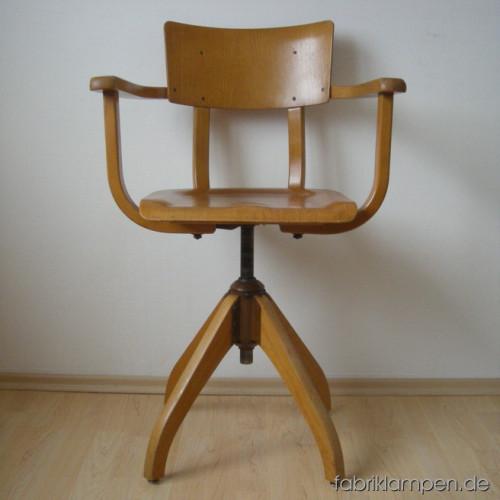Ama elastik drehstuhl fabriklampen - Drehstuhl mit armlehne ...