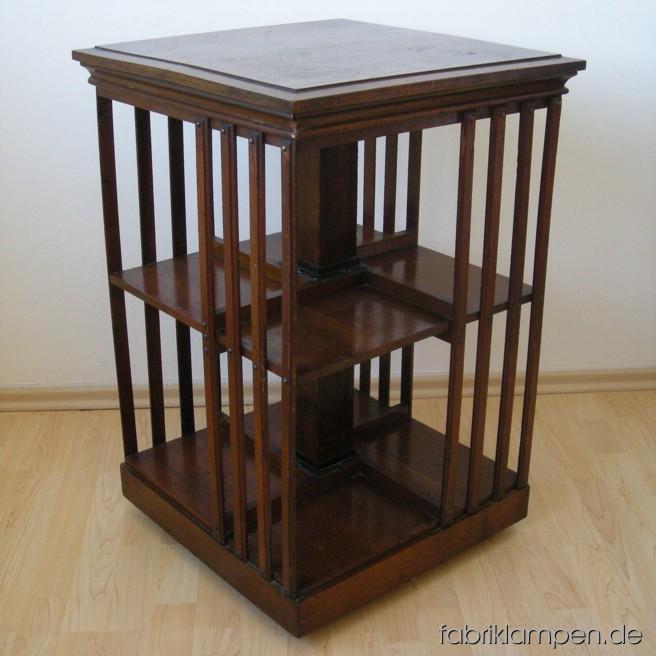 Original Danner's revolving bookcase um etwa 1880. Sehr selten, guter Originalzustand.
