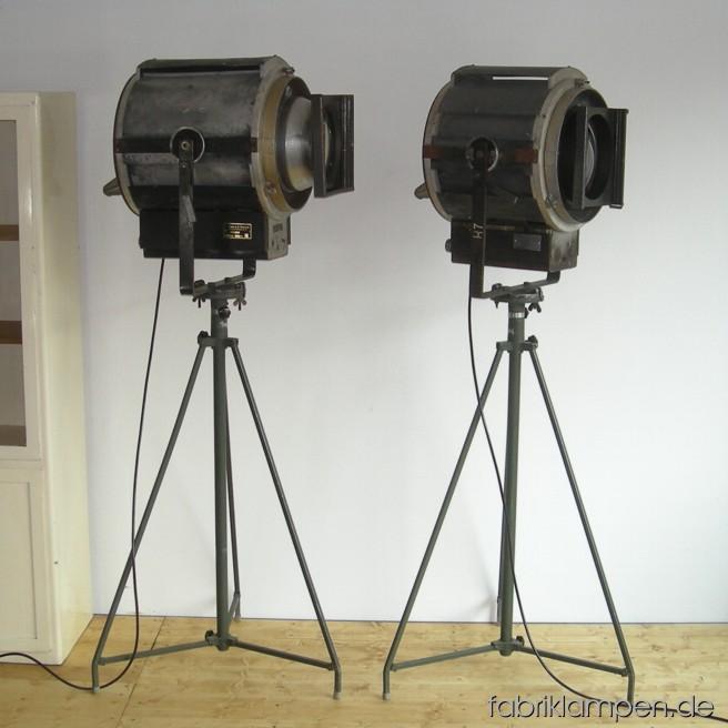 Huge headlight pair (Giese & Nowicki, Berlin).