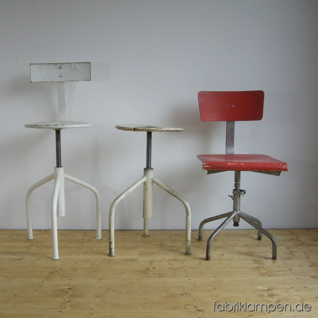 Industrial and medical revolving chairs and stools – always on stock.