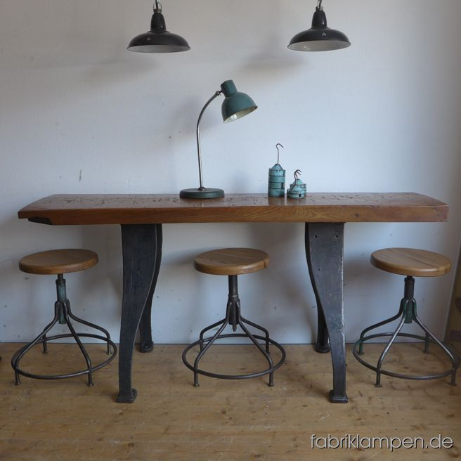 M bel fabriklampen - Tischplatte ecke ...
