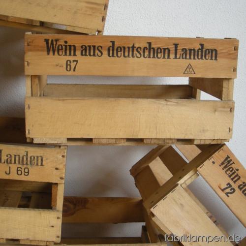 Di11 weinkisten bierkisten fabriklampen - Mobel aus holzkisten ...