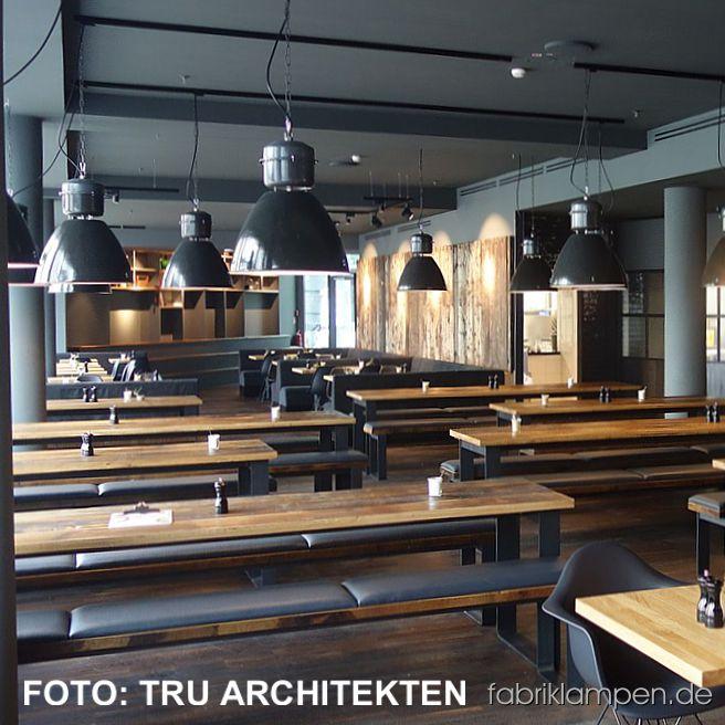 Ab April sind unsere alten Fabriklampen im Spreegold-Restaurant im Herzen Berlins im Bikini-Haus zu sehen.